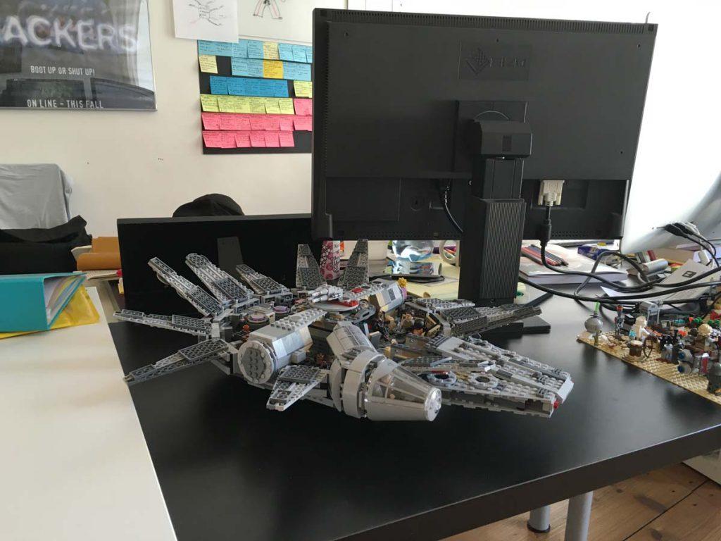 My Lego Star Wars MillenniumFalcon