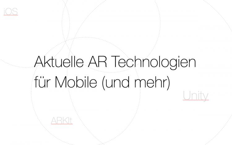 AR Technologien